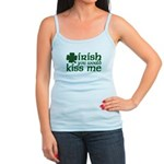 Irish You Would Kiss Me Jr. Spaghetti Tank