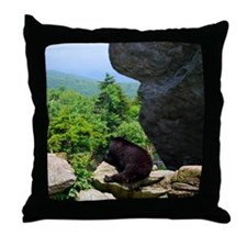 bear1 Throw Pillow