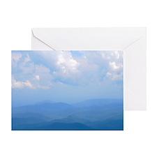 blue2 Greeting Card