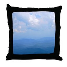blue2 Throw Pillow