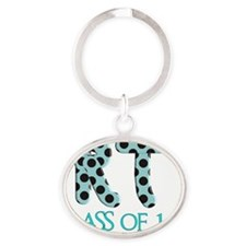 RT class of 11 TEAL Oval Keychain
