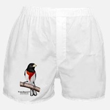 Rose-Breasted Grosbeak Boxer Shorts