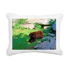 bear5 Rectangular Canvas Pillow