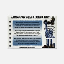 Lasting Sight blue done copy Rectangle Magnet