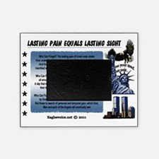 Lasting Sight blue done copy Picture Frame