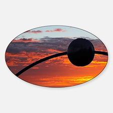 Sunrise over Millennial Arch Eclipt Decal