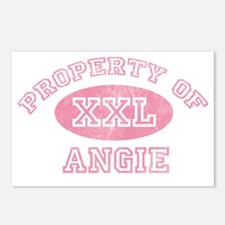 Property-of-Angie Postcards (Package of 8)