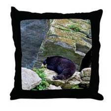 bear3 Throw Pillow