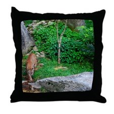 cougar1 Throw Pillow