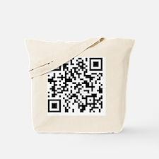 qr9.25x7.75 Tote Bag