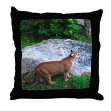 cougar2 Throw Pillow