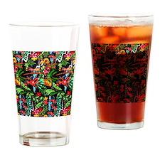 Hawaiian Girl FF Drinking Glass
