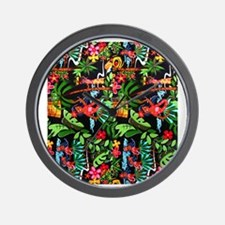 Hawaiian Girl FF Wall Clock