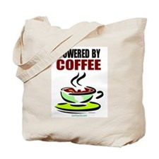 Powered By Coffee Tote Bag