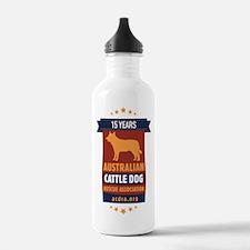 15 Year ACDRA Logo Water Bottle