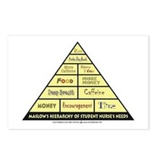 Maslow's Student Nurse Hierarchy Postcards (Packag