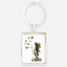 150 res forest all Portrait Keychain