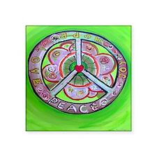 """peace7x7 Square Sticker 3"""" x 3"""""""