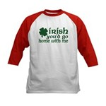 Irish Go Home With Me Kids Baseball Jersey