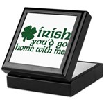 Irish Go Home With Me Keepsake Box