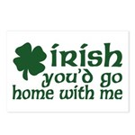 Irish Go Home With Me Postcards (Package of 8)