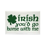 Irish Go Home With Me Rectangle Magnet (10 pack)
