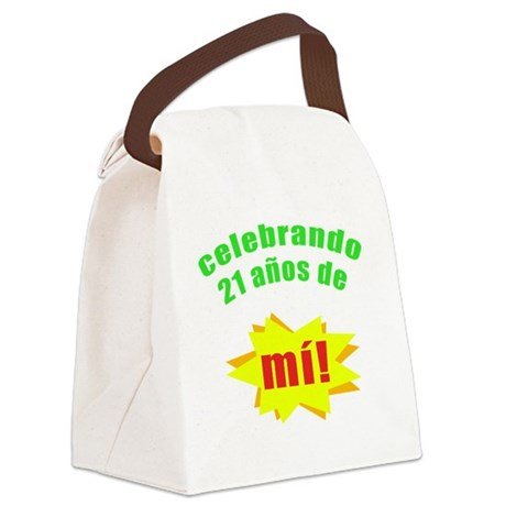 Celebrando21 Canvas Lunch Bag