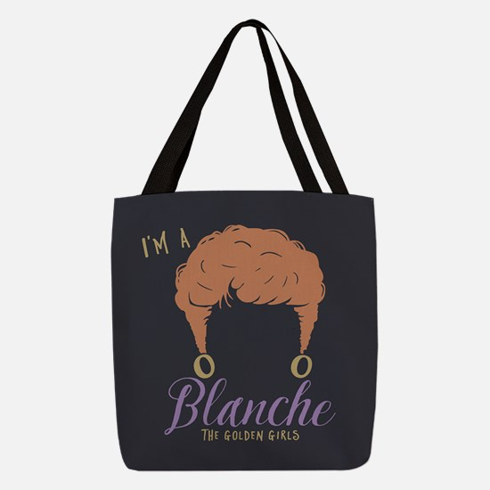 I'm A Blanche Golden Girls Polyester Tote Bag