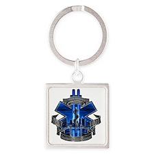 488306330_o Square Keychain
