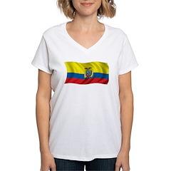 Wavy Ecuador Flag Shirt