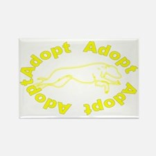 adopt yellow v2.0.gif Rectangle Magnet