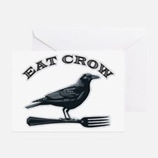 eat crow Greeting Card