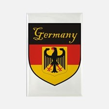 Germany Flag Crest Shield Rectangle Magnet