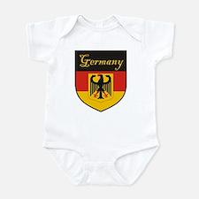 Germany Flag Crest Shield Infant Bodysuit