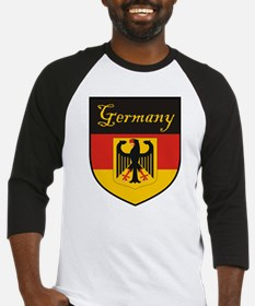 Germany Flag Crest Shield Baseball Jersey