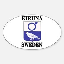 The Kiruna Store Oval Decal