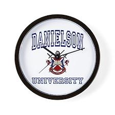 DANIELSON University Wall Clock