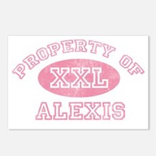 Property-of-Alexis Postcards (Package of 8)
