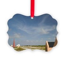 ABC Islands, BONAIRE, Oranje Pan: Ornament