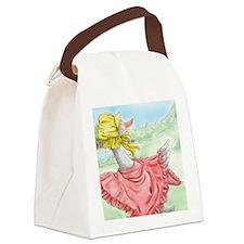 MotherGoose_KindleSleeve Canvas Lunch Bag