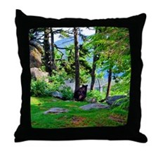 bear12 Throw Pillow