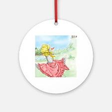 MotherGoose_iPadSleeve Round Ornament