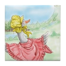 MotherGoose_iPadSleeve Tile Coaster