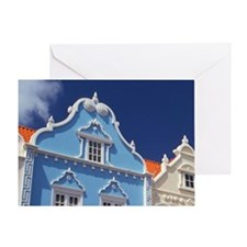 Caribbean, Aruba, Oranjestad. Greeting Card