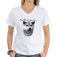 Shiba Inu Happy Face Shirt