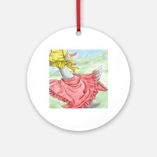 MotherGoose_NookSleeve Round Ornament