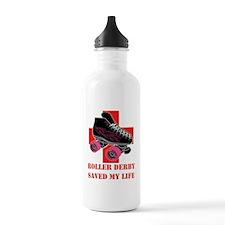 roller_derby_saved_me  Water Bottle
