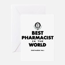 The Best in the World – Pharmacist Greeting Cards