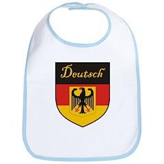 Deutsch Flag Crest Shield Bib