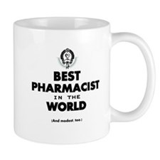 The Best in the World – Pharmacist Mugs
